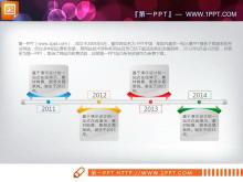 精美实用的PPT流程图下载