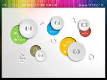 创意抠图样式的幻灯片目录模板下载