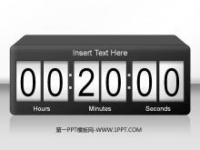 动态开幕式倒计时时钟PPT动画下载