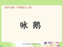 咏鹅PPT教学课件下载