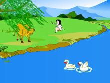 字与拼音d t n l flash动画课件下载