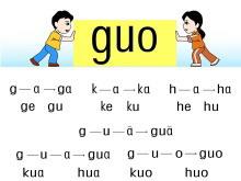 字与拼音g k h flash动画课件下载2