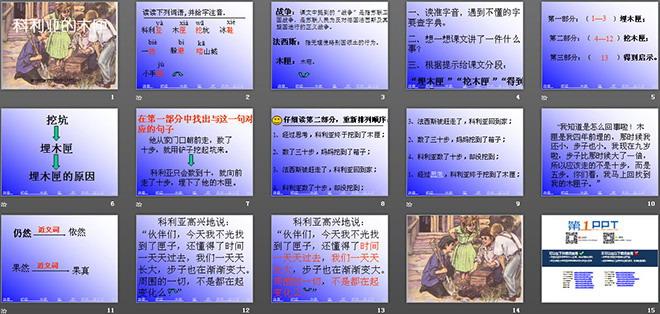 《科利亚的木匣》ppt教学课件下载2