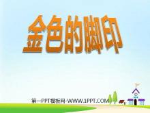 《金色的脚印》PPT课件下载3