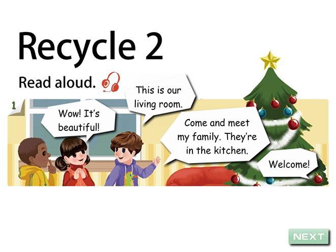 教案版PEP四集体英语年级《Recycle2》Flash下八英语人教年级上册备课图片