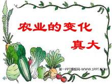 《农业的变化真大》PPT教学课件下载4
