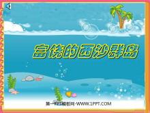 《富饶的西沙群岛》PPT教学课件下载3