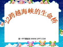 《跨越海峡的生命桥》PPT课件下载7