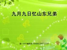 《九月九日忆山东兄弟》PPT课件2