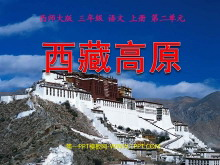 《西藏高原》PPT课件2