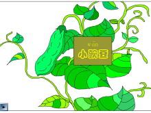 《一颗小豌豆》Flash动画课件