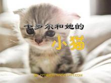 《卡罗尔和她的小猫》PPT课件4