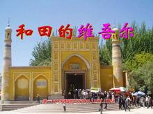 《和田的维吾尔》PPT课件2