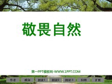 《敬畏自然》PPT课件3