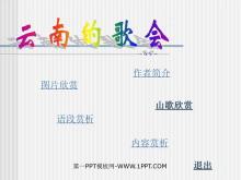 《云南的歌会》PPT课件