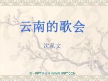 《云南的歌会》PPT课件2