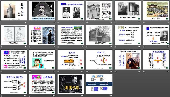 《藤野先生》ppt课件浅谈一年级拼音教学图片