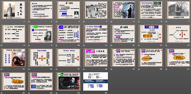 《藤野先生》ppt课件2lol视频教学奥巴马图片