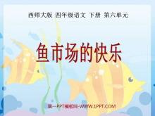 《鱼市场的快乐》PPT课件