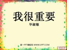 《我很重要》PPT课件3