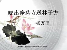 《晓出净慈寺送林子方》PPT课件5
