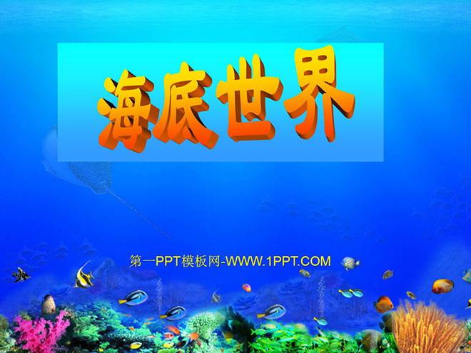 海底世界 PPT课件3