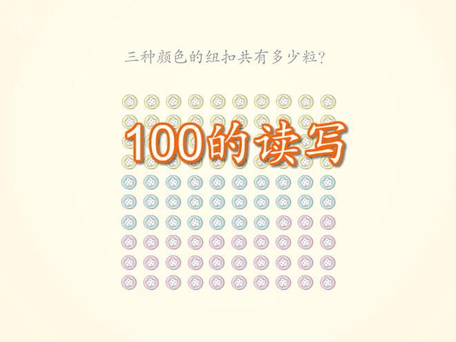 人教版一年级数学下册《读数写数》100以内数的认识Flash动画课件3