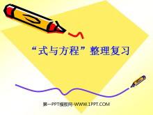 《总复习-式与方程》PPT课件2