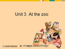 《At the zoo》教学建议PPT课件