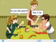 《Do you like pears?》Lets learn Flash动画课件