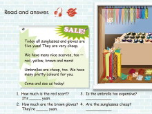 《Shopping》read and answer Flash�赢��n件