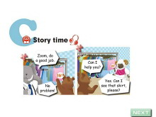 《Shopping》story time Flash动画课件