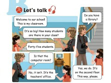 《My School》lets talk Flash动画课件2