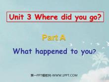 《Where did you go?》第二课时PPT课件