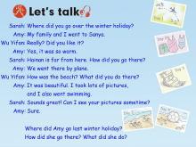 《Where did you go?》lets talk Flash动画课件2
