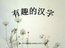 《有趣的汉字》PPT课件2