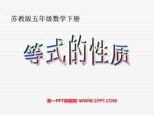 《等式的性质》简易方程PPT课件2