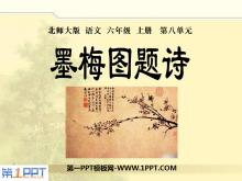 《墨梅图题诗》PPT课件2