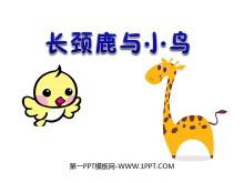 《长颈鹿与小鸟》除法必发88课件