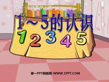 《1~5的认识》认识10以内的数PPT课件2