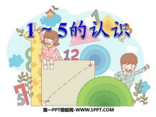 《1~5的认识》认识10以内的数PPT课件3
