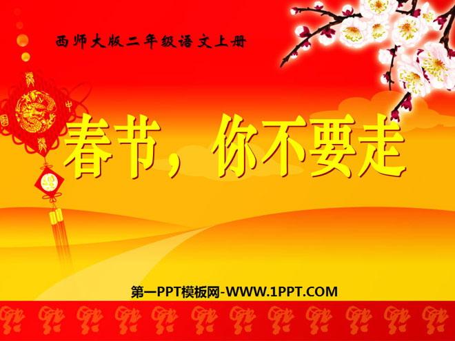 《春节,你不要走》PPT课件3