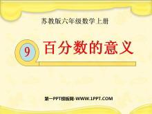 《百分数的意义》认识百分数PPT课件3