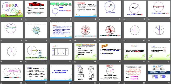 《圆的认识》圆PPT课件7