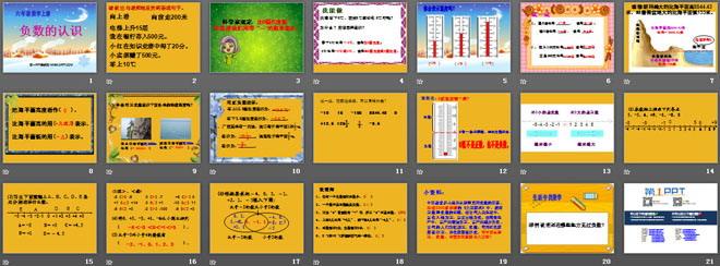 《负数的认识》负数的初步认识ppt课件3图片