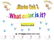 《What color is it?》StarterUnit3PPT课件