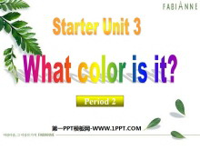 《What color is it?》StarterUnit3PPT课件2