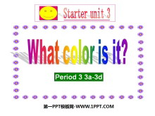 《What color is it?》StarterUnit3PPT课件3