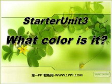 《What color is it?》StarterUnit3PPT课件6