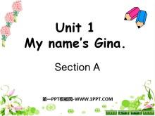 《My name's Gina》PPT课件3